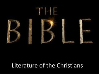 Literature of the Christians