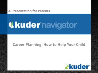 Career Planning: How to Help Your Child