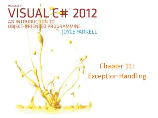 Chapter 11: Exception Handling
