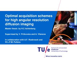 Optimal acquisition  s chemes for high angular resolution diffusion imaging