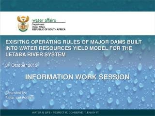 Major Dams focussed on