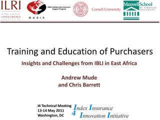 Training and Education of Purchasers
