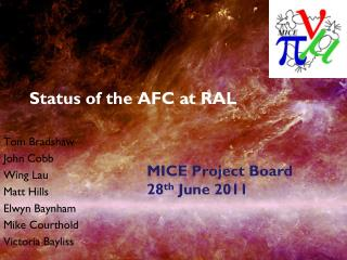 Status of the AFC at RAL