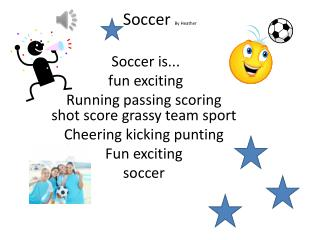 Soccer  By Heather