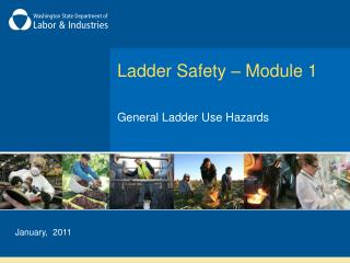 Ladder Safety – Module 1