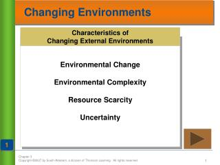 Changing Environments
