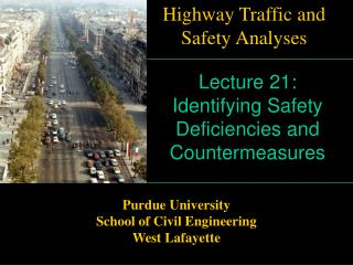 Lecture 21: Identifying Safety Deficiencies and Countermeasures