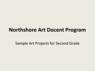 Northshore Art Docent Program