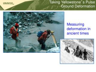 Taking Yellowstone ' s Pulse Ground Deformation