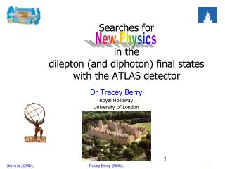Searches for  in  the  dilepton (and  diphoton )  final states  with the ATLAS detector