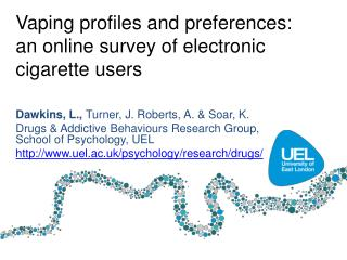 Vaping  profiles and preferences:  an online survey of electronic cigarette users