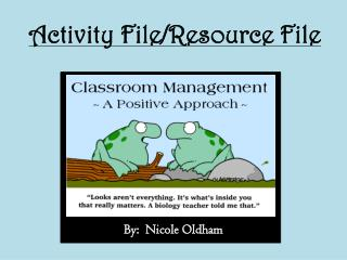 Activity File/Resource File