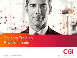 Cgi Training Revision mode