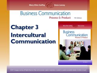 Chapter 3 Intercultural Communication