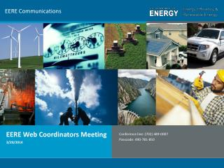 EERE Communications