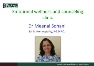 Emotional wellness and counseling clinic