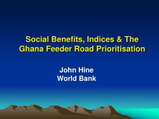 Social Benefits: Why the Concern