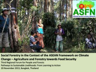 ASEAN Multi-sectoral Framework on Climate Change and Food Security (AFCC)
