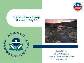 Sand Creek Seep Commerce City CO