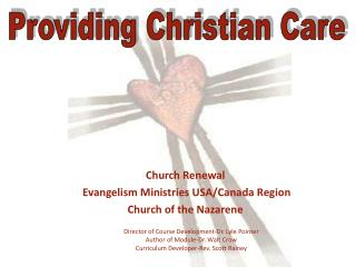 Church Renewal  Evangelism Ministries USA/Canada Region Church of the Nazarene