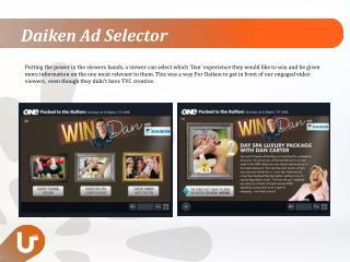 Daiken Ad Selector