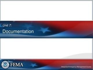 Importance of Documentation