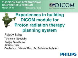 Experiences in building DICOM module for Proton radiation therapy planning system