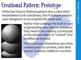 Creational Pattern: Prototype