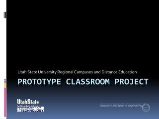 Prototype classroom project