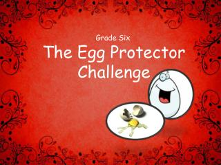 The Egg Protector Challenge