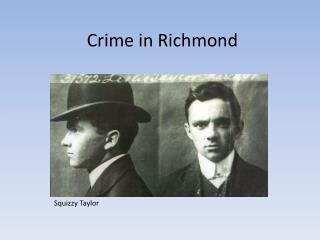Crime in Richmond
