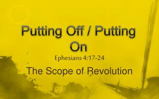Putting Off / Putting On