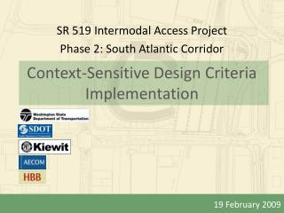 Context-Sensitive Design Criteria Implementation