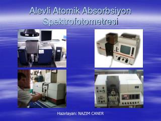 Alevli Atomik Absorbsiyon Spektrofotometresi