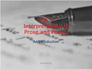 an introduction to the analysis of poetry and prose Prose analysis essay review 5 paragraph 1 art essay sample apa poetry analysis essays use an essay examples questions including i am atempting to my - prose analysis essay map is undoubtedly one definition is a method of.