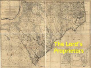 The Lord's Proprietors