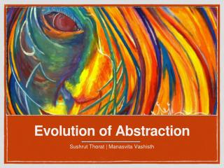 Evolution of Abstraction