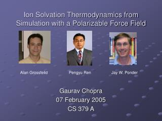 Ion Solvation Thermodynamics from Simulation with a Polarizable Force Field