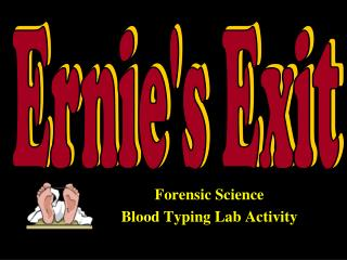 Forensic Science  Blood Typing Lab Activity
