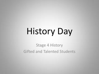 History Day