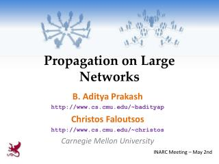 Propagation on Large Networks