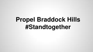 Propel Braddock Hills #Standtogether
