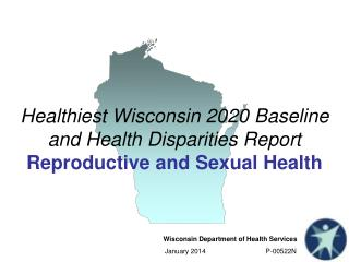 Healthiest Wisconsin 2020 Baseline and Health Disparities Report Reproductive and Sexual Health