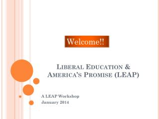 Liberal Education & America's Promise (LEAP)