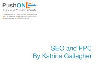 SEO and PPC By Katrina Gallagher