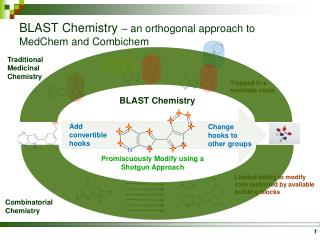 BLAST Chemistry – an orthogonal approach to MedChem and Combichem