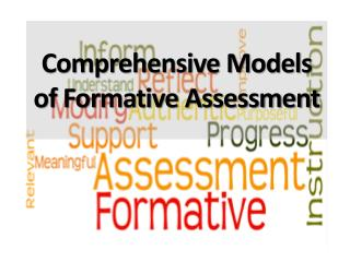Comprehensive Models of Formative Assessment