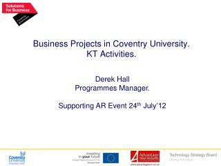 Business Projects in Coventry University. KT Activities.