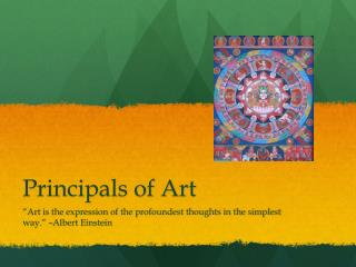 Principals of Art