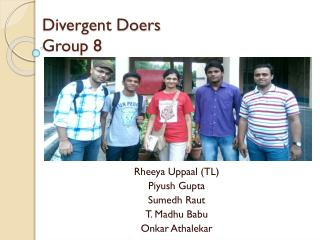 Divergent Doers Group 8
